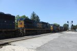 CSX 806, CSX 5367, CSX 896, CSX 253, CSX 73, CSX 7792 with just 1 more to come